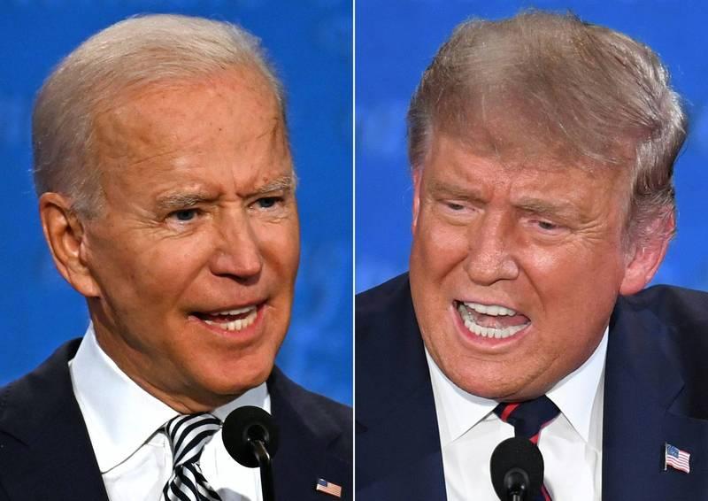 美總統第二場辯論會確定取消。(法新社)