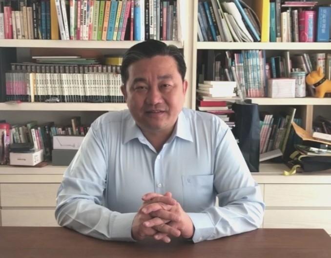 民進黨主委王定宇批評國台辦重提過時的「九二共識」。(記者吳俊鋒翻攝)
