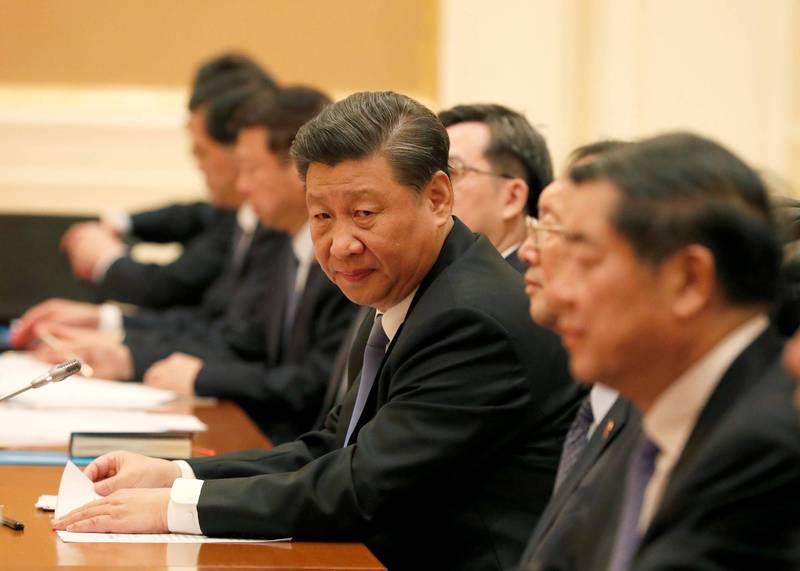中共軍機近日頻頻擾台,有些人覺得,這是中國在恐嚇要對台動武。圖為中國國家主席習近平。(路透檔案照)