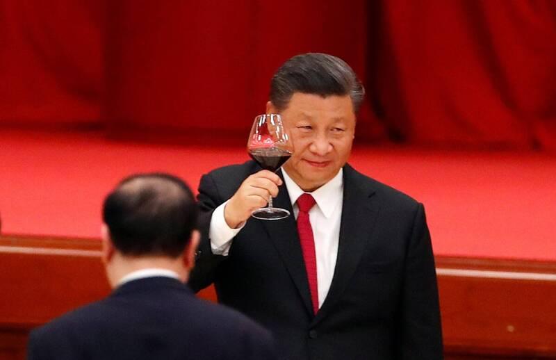 中國國家主席習近平(見圖)近日南下廣東,預計14日出席深圳特區成立40周年慶祝活動,另將會晤香港行政長官林鄭月娥。(路透資料照)