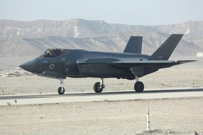 以色列情報部長科恩表示,以色列將反對美國向卡達出售任何F-35戰機。圖為以色列F-35戰機。(歐新社)