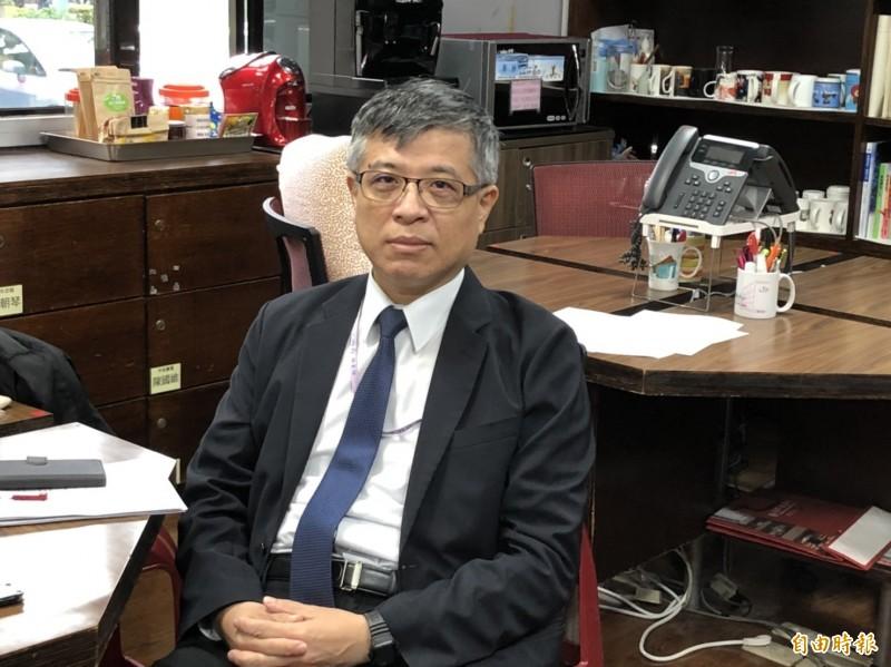 聖約翰科技大學未按月支付教師薪水,教育部政次劉孟奇今天表示,扣薪是脅迫,不是協議。(記者林曉雲攝)