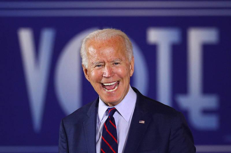 美民主黨總統候選人拜登。(路透)