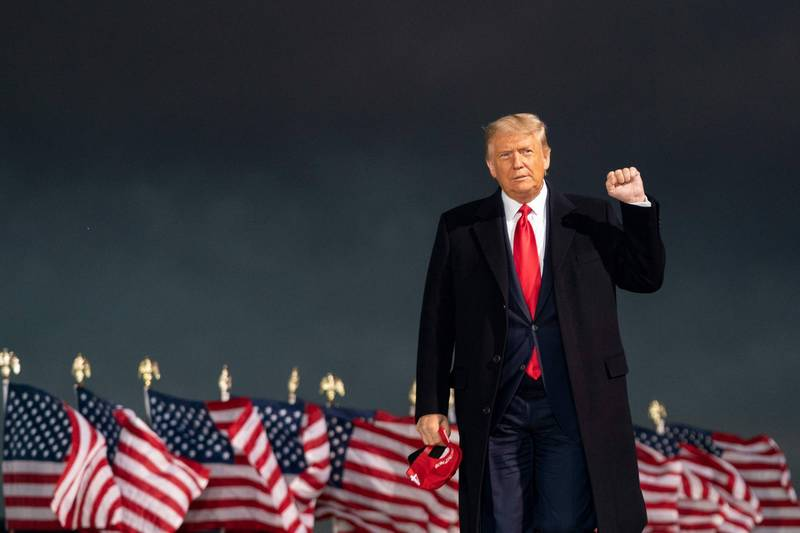 美國1名成功預言川普贏得2016年總統大選的傳教士指出,川普將在「大天使」幫助下獲得勝利。(法新社檔案照)