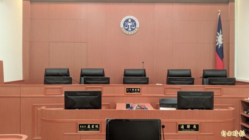 懲戒法院判陳員休職2年,期滿可復職。(記者吳政峰攝)