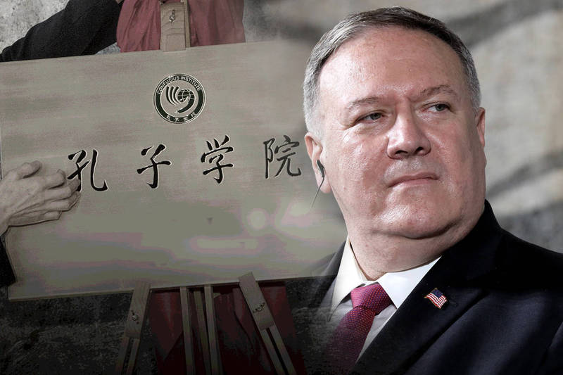 孔子學院是中國大外宣! 龐皮歐:全美年底前必須關閉