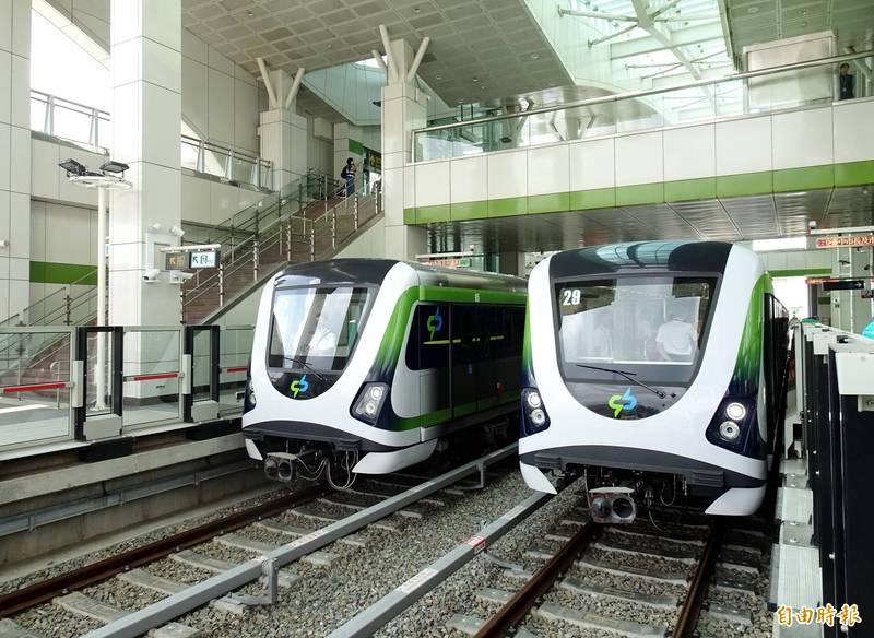 交通部今天宣布,台中捷運綠線將於10月25日辦理履勘作業。(資料照)