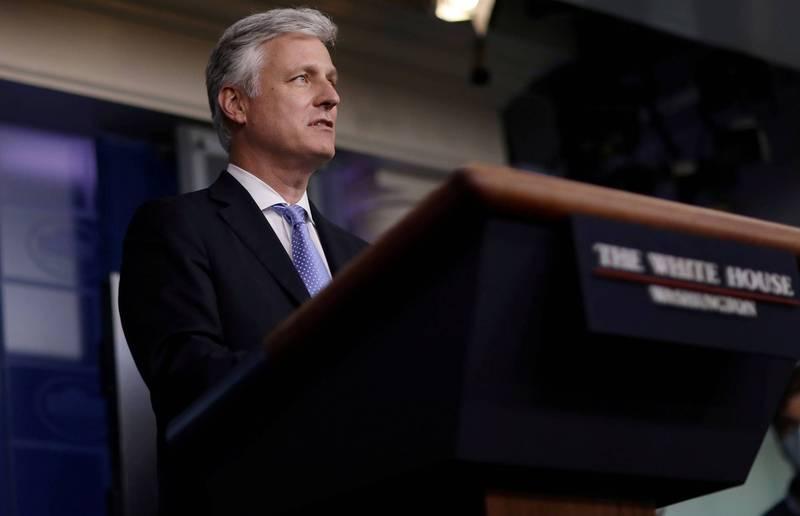 美國白宮國家安全顧問歐布萊恩向台灣喊話,台方需開始考慮非對稱作戰策略,採取真正能阻止中國兩棲登陸的作戰方式。(路透檔案照)