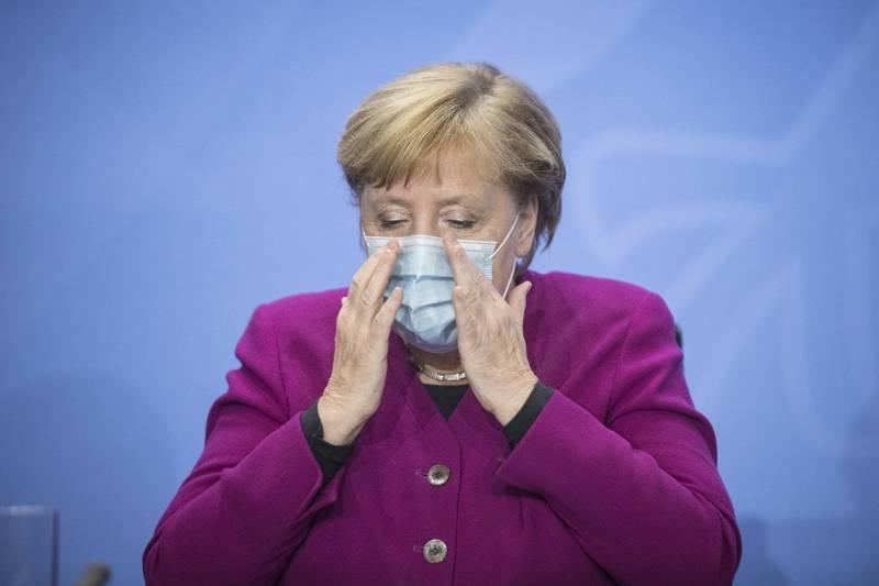 德國總理梅克爾今天以武漢肺炎疫情為由,取消11月26日歐盟在柏林的領袖峰會,這場峰會原將討論歐盟與中國的關係。(美聯社)