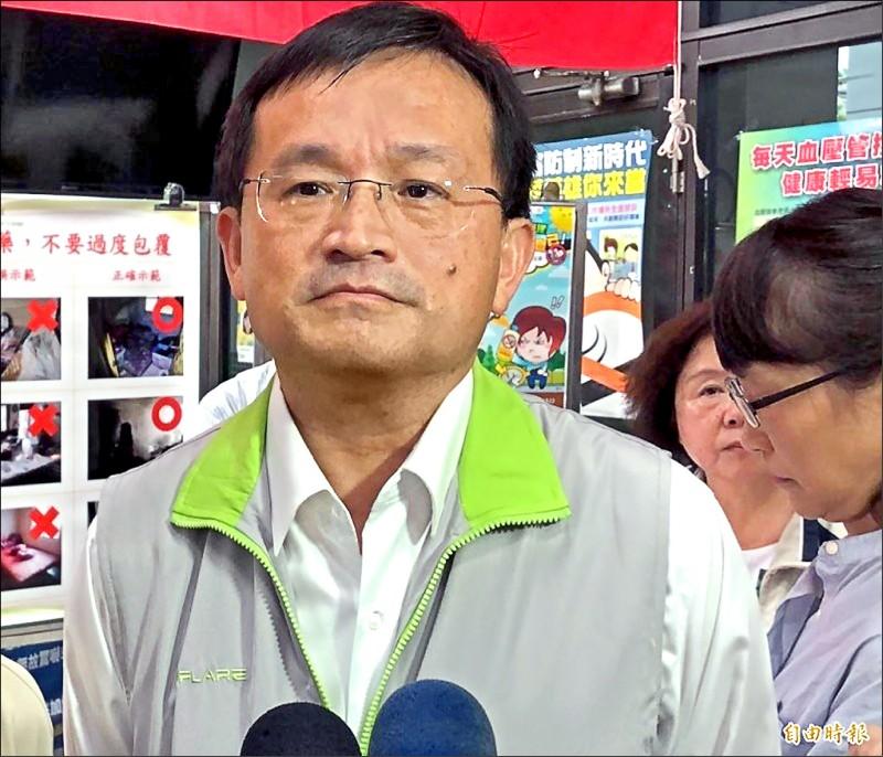 前南市衛生局長與鄭姓女秘書傳出婚外情,台南地院昨兩人要賠50萬元給鄭女的曾姓丈夫。(資料照)