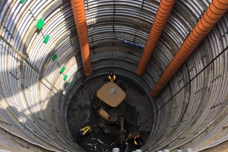台南災害復建首見開鑿「大口徑集水井」 解決六甲30年道安問題