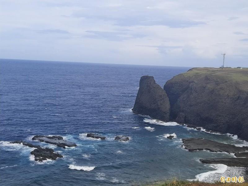 澎湖觀光島嶼七美傳出鄉民失足落海溺斃。(記者劉禹慶攝)