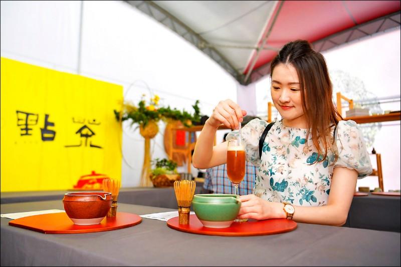 2020南投世界茶業博覽會於雙十連假期間在中興新村登場,遊客已破60萬人次。(圖:南投縣政府提供)