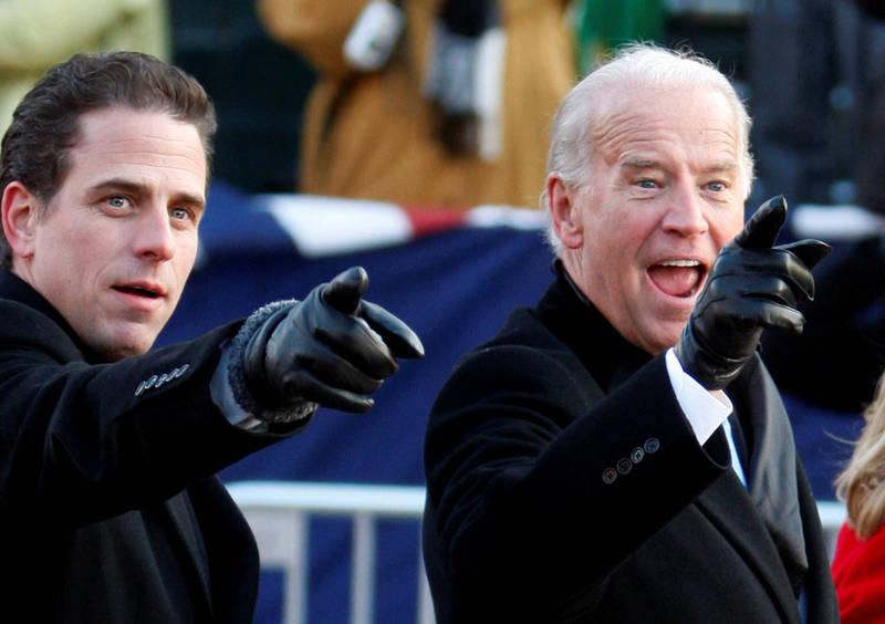 拜登次子杭特(Hunter Biden)被爆料利用父親的副總統職務之便,為中國政府客戶安排白宮最高層私人會議。(路透資料照)
