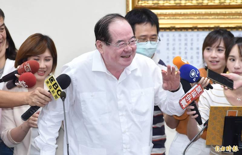 國民黨近期規劃舉行台灣光復節紀念活動,並聲稱不能讓對岸專美於前,國民黨秘書長李乾龍(見圖)指出,該黨將正式邀請蔡英文總統參加。(資料照)