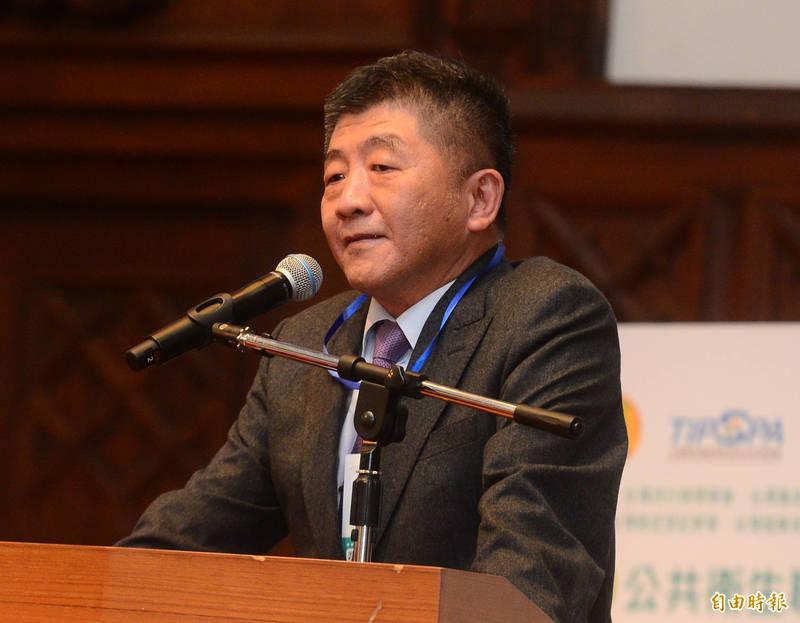 2020年公共衛生聯合年會暨學術研討會,衛福部長陳時中受邀做專題演講。(記者王藝菘攝)