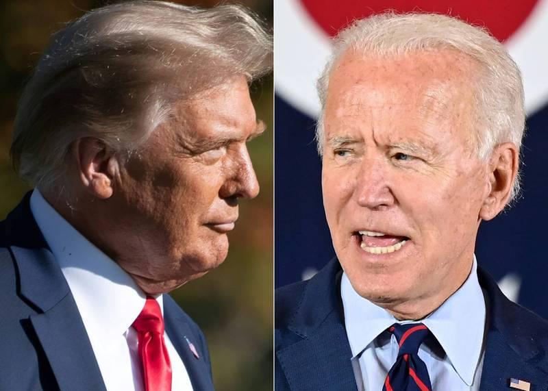 第二場美總統大選辯論將在下週四舉行。(法新社)