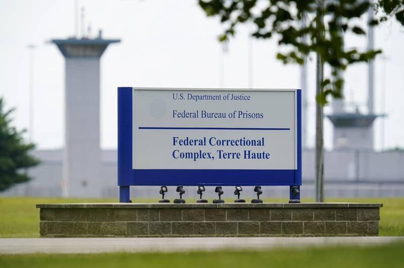 美國將近70年以來將首次處死女性死囚,圖為預定執行死刑的特雷霍特聯邦監獄。(美聯社)