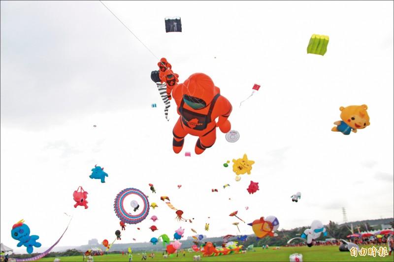 國際風箏節 太空人漫步雲端