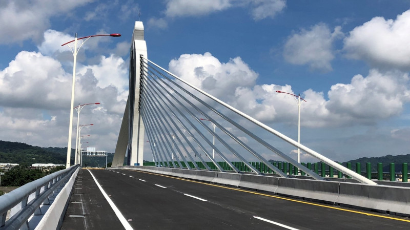 東豐快速道路工程延宕,引發東勢人不滿。(市府提供)