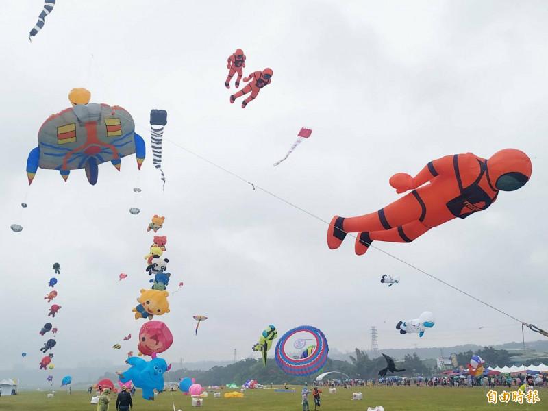 「箏」好看!桃園國際風箏節放飛2天攬客6萬