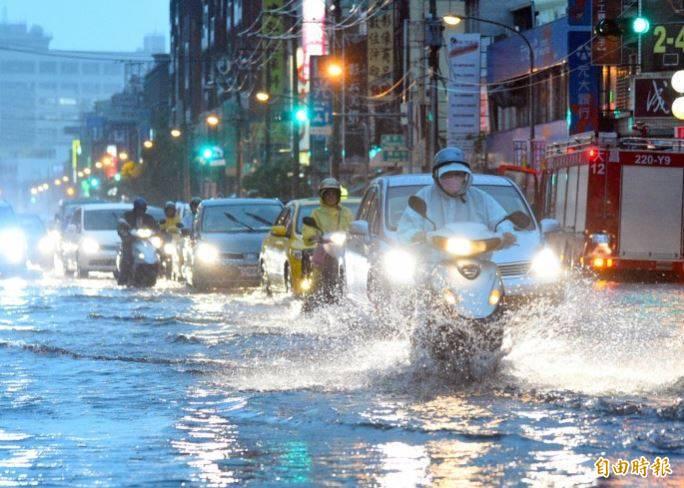 宜蘭縣升至豪雨特報,低窪地區得慎防淹水。(資料照)