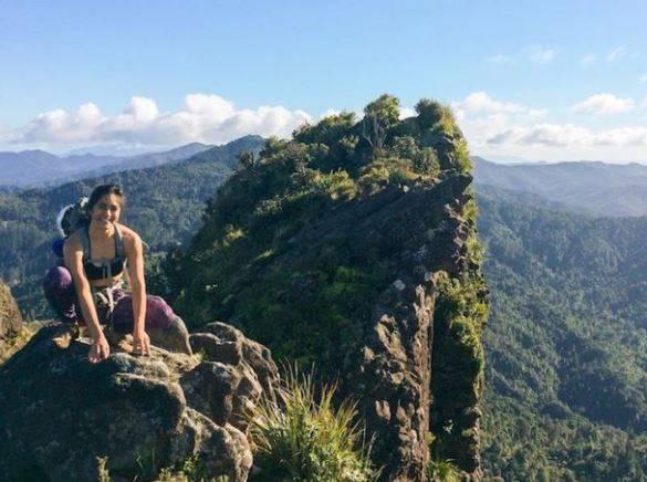 28歲女科學家沃瑞爾和男友格拉罕一起到紐西蘭城堡岩攀岩,卻碰上墜谷意外而身亡,原來是使用的固定用繩索卻早就因為風化出現嚴重磨損,在她攀岩時斷裂,讓憾事就此發生。(圖取自紐西蘭警方網站)