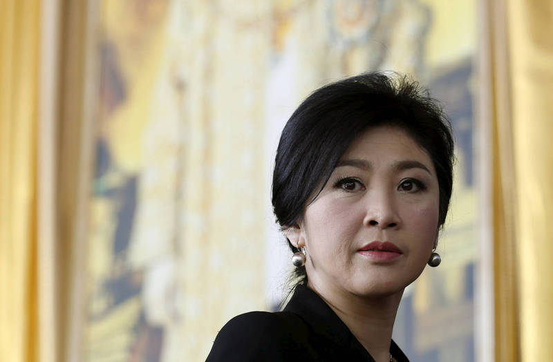 泰國前總理盈拉(見圖)呼籲現任總理帕拉育想想6年前。(路透)