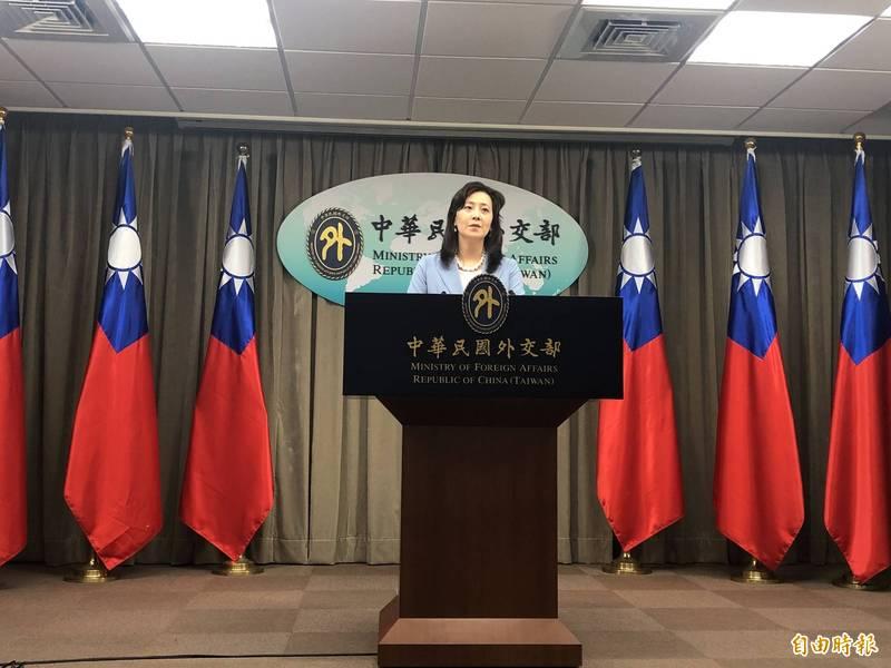 對於中方反咬遭我方人員攻擊,外交部發言人歐江安批評,中方企圖顛倒是非,混淆視聽。(資料照)