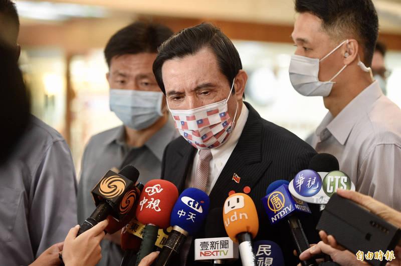 中國外交人員動粗導致我方人員腦震盪,前總統馬英九今表示,在外交場合使用暴力就是不應該,應予以譴責。(資料照)