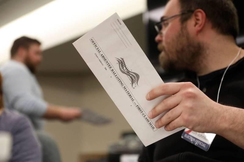 美國總統大選今年各州實施提早投票多項法律爭議,目前各地已展開法律訴訟。(路透)