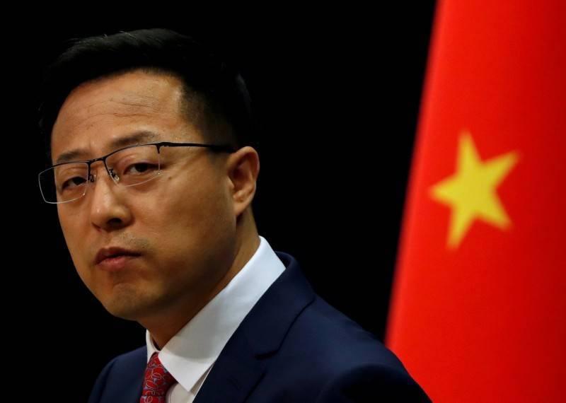 中國外交部發言人趙立堅(見圖)老調重彈回應,堅決反對任何邦交國與台灣發生任何形式的官方往來、簽署任何官方性質的協議。(路透)