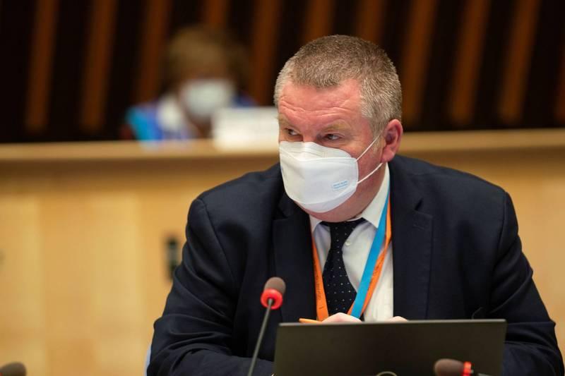世衛公共衛生緊急計畫執行主任萊恩也在討論亞洲防疫成功範例時點名台灣。(路透)