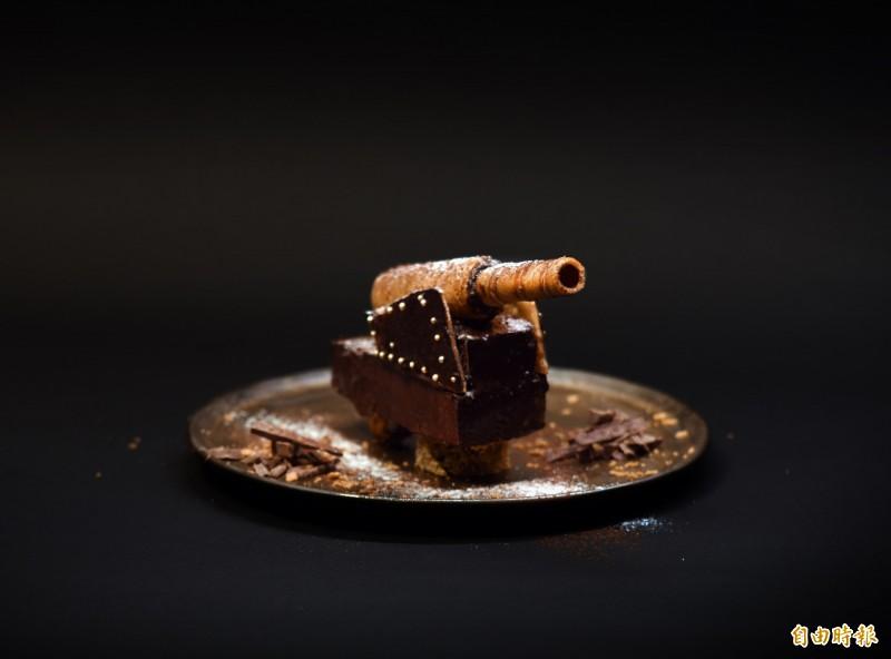 把歷史吃下肚,淡水古蹟博物館線上教創意料理。(記者陳心瑜攝)