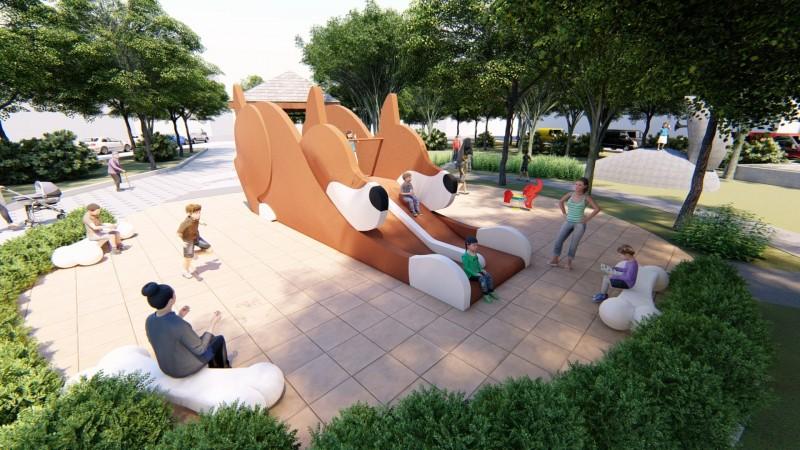 讓台中公園好好玩!台中美樂地計畫再啟動10公園改建工程。(市府提供)