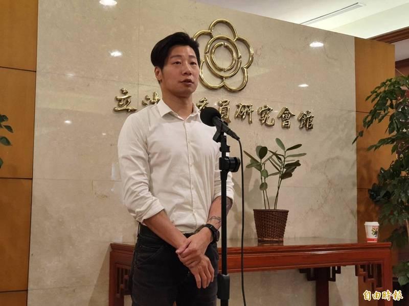 林昶佐(見圖)表示,轉型正義還有很多工作要推動,期望台灣能成為有公義的國家。(資料照)