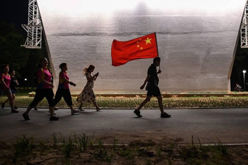 「華盛頓郵報」報導,中國官員強硬「戰狼外交」作風引發的爭議越來越多,反映北京的緊張與不安。(法新社)
