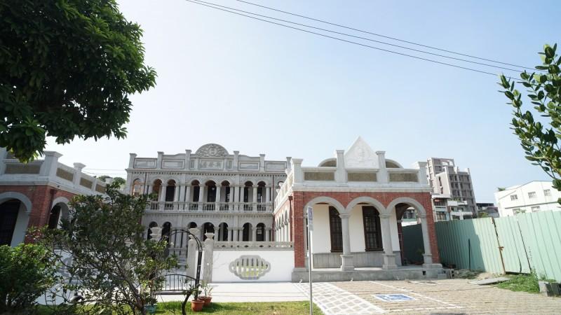 市定古蹟「聚奎居」整修完工多時仍關閉,文化局允年底前開放。(陳世凱提供)