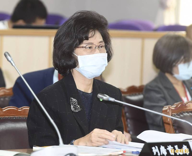 監院秘書長朱富美今於立法院司法及法制委員會詢答時表示,食安會報1年未召開於昨日已啟動函查。(記者簡榮豐攝)
