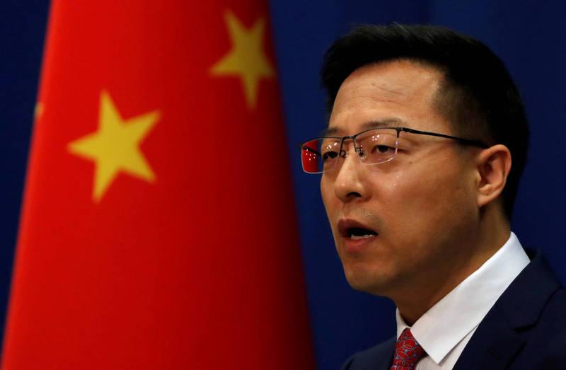 外媒提問,對台灣表示不願和中國進行軍備競賽,只是希望建立可靠的防衛能力,中國有何回應?中國外交部發言人趙立堅則嗆:「他們如果不想進口武器裝備,那就應該說到做到,而不是說一套,做一套!」(路透)
