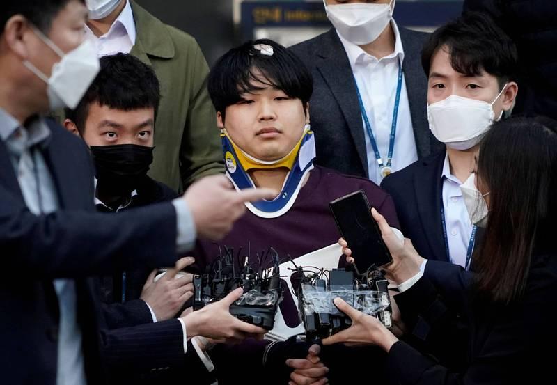 南韓N號房主嫌趙主彬(見圖)今天被檢方求處無期徒刑,甚至被指控藏匿犯罪所得約新台幣270萬元。(路透)