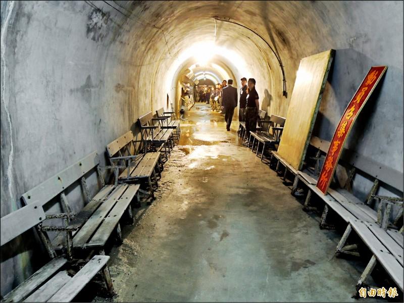 高市壽山幾處隧道,曾是防空避難場域。(記者王榮祥攝)