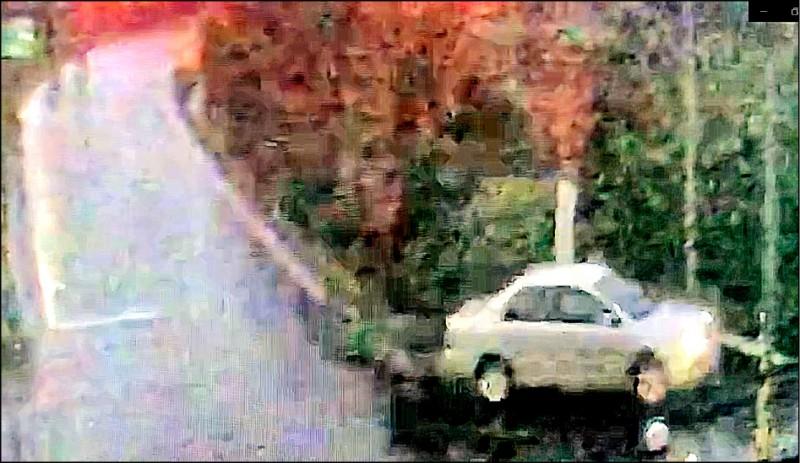 王傳齊駕車將女學生載往偏僻公園性侵。(記者鄭淑婷翻攝)
