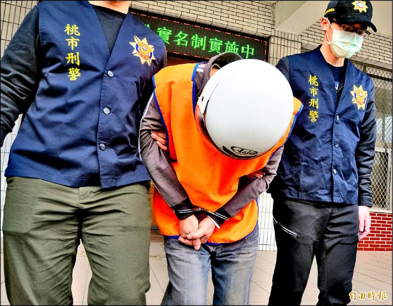 王傳齊駕車將女學生載往偏僻公園,隨後被捕。 (記者鄭淑婷攝)