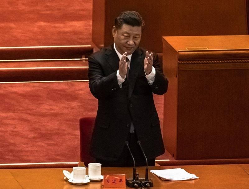 中共領導人習近平今日出席在北京人民大會堂舉行的「抗美援朝70週年紀念大會」,並發表長達38分鐘的談話,全程立場強硬,暗批美國。(歐新社)