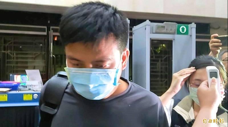 中校軍官李志交(見圖)被監守自盜口罩國家隊口罩,拿去販售。(資料照)