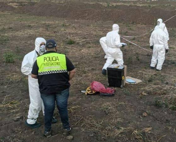 阿根廷9歲女童莉奎遭姦殺,嫌犯圭瑪斯被當地民眾發現後以刀械毆打致死。(圖擷自推特)