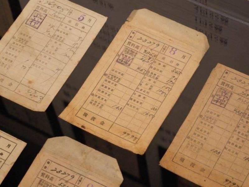 前日本首相安倍晉三公開台灣二戰徵用工的薪資袋照片。(圖擷取自安倍推特@AbeShinzo)