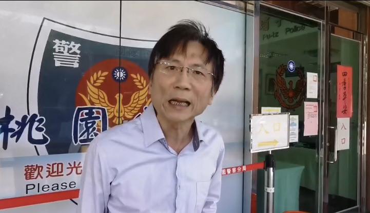 綽號「村長」的網紅、桃園市議員詹江村近來風波不斷,針對槍殺他的恐嚇訊息,他氣得到桃園警分局報案。(記者陳恩惠翻攝)