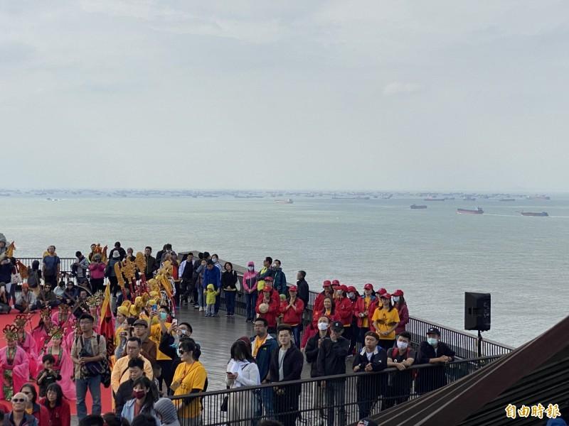 中國抽砂船「包圍南竿島」?海巡署增派新北艦趕往驅離